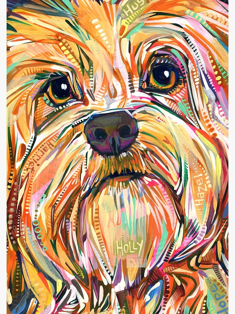 H Is for Havanese Dog - 2019 by gwennpaints