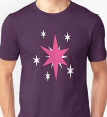 TwilightSparkle Cutie Mark (Outline) T-Shirt