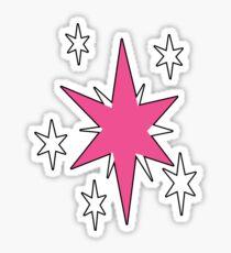 TwilightSparkle Cutie Mark (Outline) Sticker