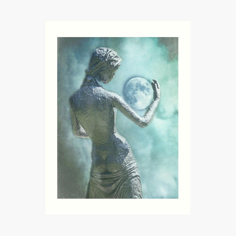 Symphony in blue Kunstdruck