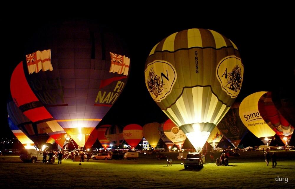 Bristol Balloon Fiesta by dury