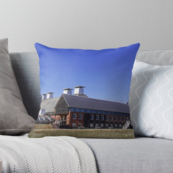 Snape Maltings, Aldeburgh, Suffolk Throw Pillow