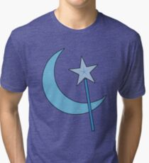 Great and Powerful! (Outline) Tri-blend T-Shirt