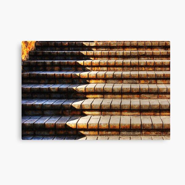 The Brick Steps Canvas Print