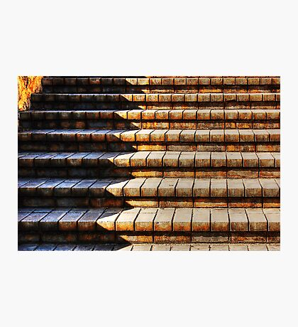 The Brick Steps Photographic Print
