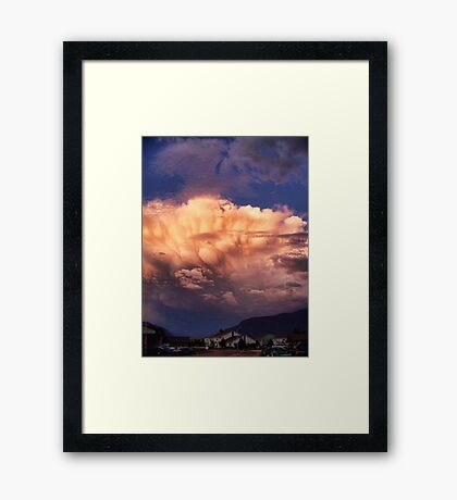 Tornado Cell Framed Print