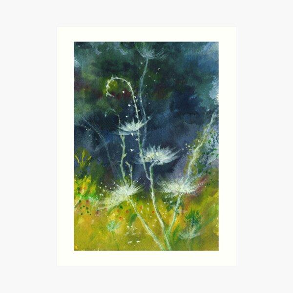 White Flower 2 Art Print