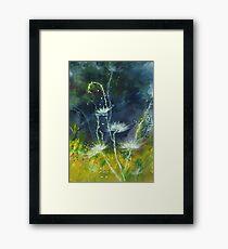 White Flower 2 Framed Print