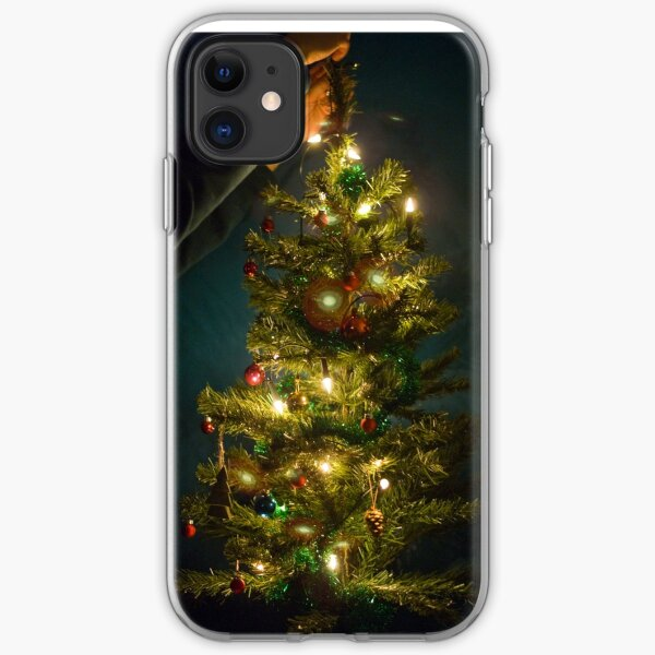 Christmas Tree Decorating iPhone Soft Case