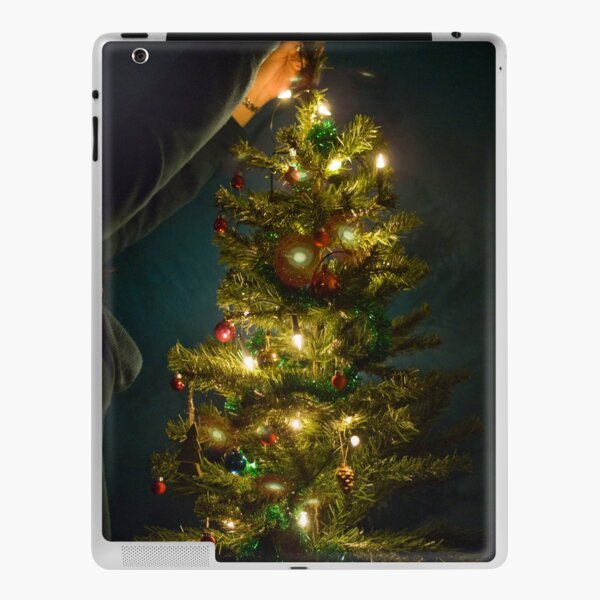 Christmas Tree Decorating iPad Skin