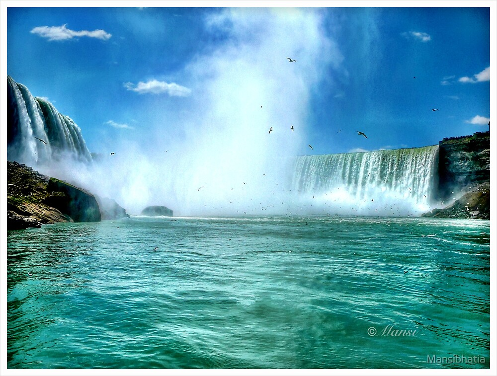 Maid of the Mist: Niagara Falls by Mansibhatia