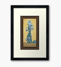 Quick Hitchers Framed Print