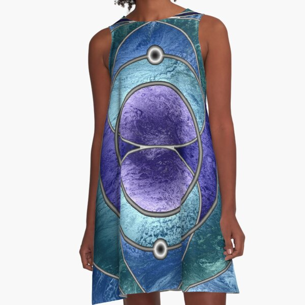 Element 2: Helium A-Line Dress