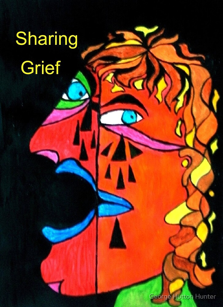 Crying man by George Hunter