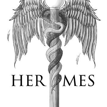 Hermes's Caduceus by BerrySnake