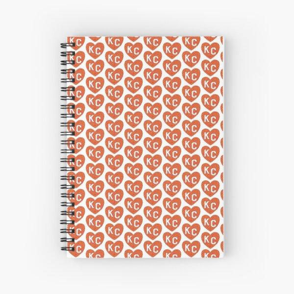Arrowhead KC Heart Spiral Notebook