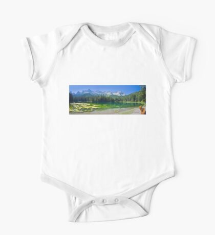 Island Lake Panorama - British Columbia Kids Clothes