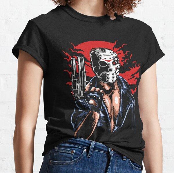 Horror Mashups: Jason Will Be Back Classic T-Shirt