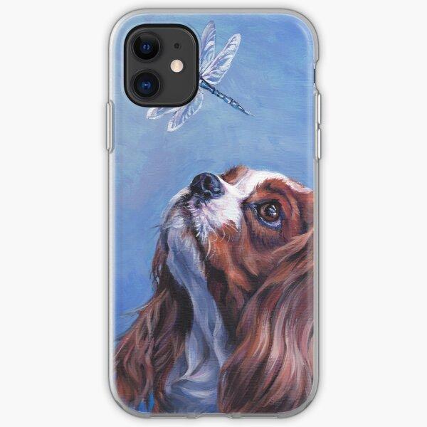 Cavalier King Charles Spaniel Fine Art Painting iPhone Soft Case