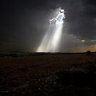 A ray of light can brighten the darkest day by Paul  Donaldson
