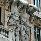 Building Giants, Genoa Italy by Edward J. Laquale