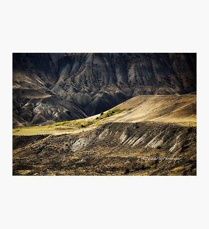 Ashcroft Badlands - British Columbia Photographic Print