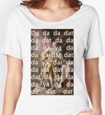 You'll be Back Hamilton King George III Da dat Women's Relaxed Fit T-Shirt