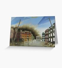 Exclusive painting on oil The Destination Greeting Card