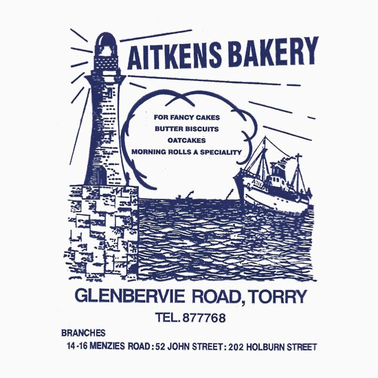 TShirtGifter presents: Aitkens Bakery