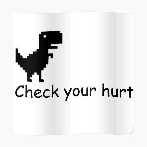 Chick your hurt Poster