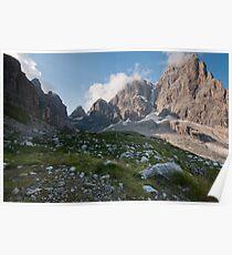 Dolomites - Rifugio Brentei 2 Poster