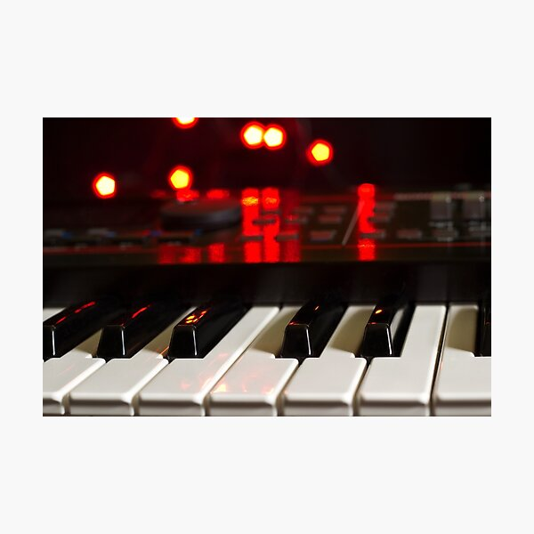 Synthesizer Photographic Print