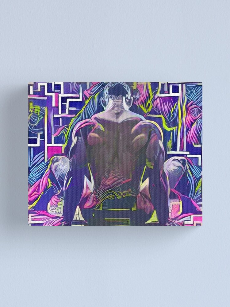 Alternate view of Manspreading Canvas Print