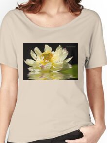 Lotus in Full Bloom Women's Relaxed Fit T-Shirt