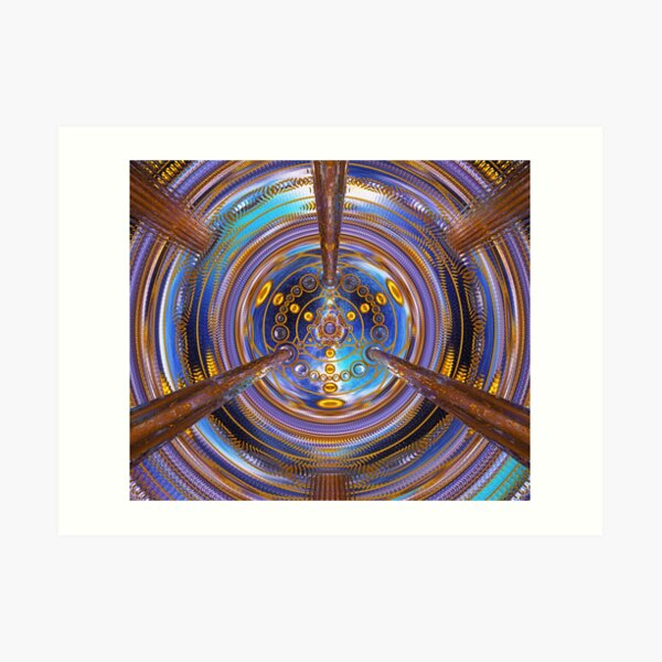 3rd Dimension Healing Code Art Print