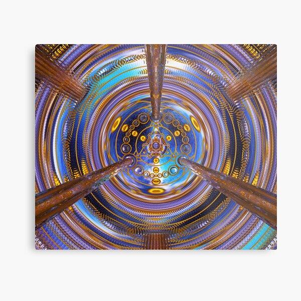3rd Dimension Healing Code Metal Print