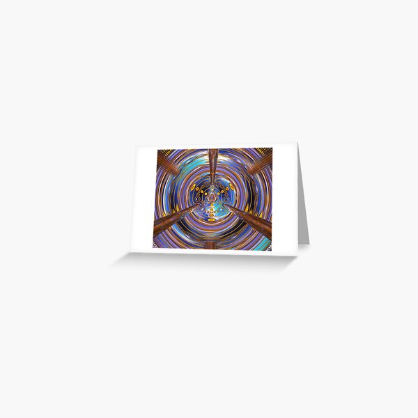 3rd Dimension Healing Code Greeting Card