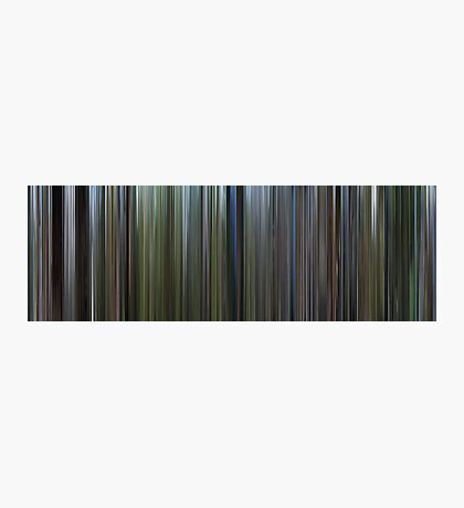Moviebarcode: The Thin Red Line (1998) Photographic Print