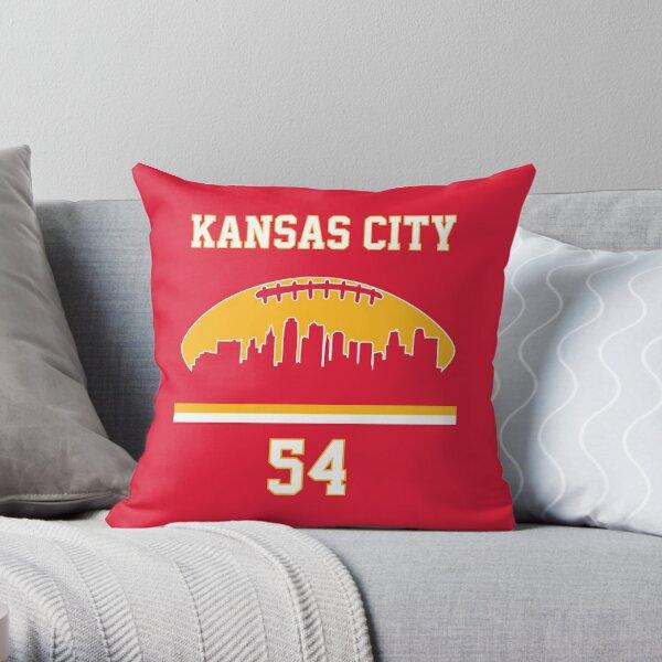 Kansas City Football 2020 Super Cool KC Fan 54 Throw Pillow