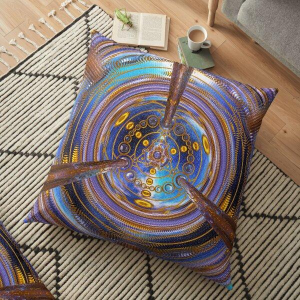 3rd Dimension Healing Code Floor Pillow