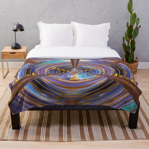 3rd Dimension Healing Code Throw Blanket