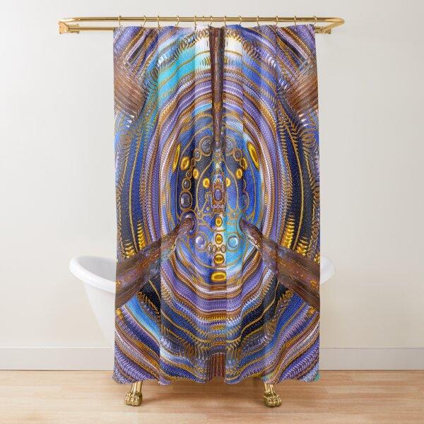 3rd Dimension Healing Code Shower Curtain