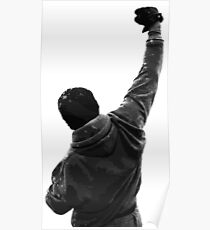 Never give UP! Rocky Balboa Poster