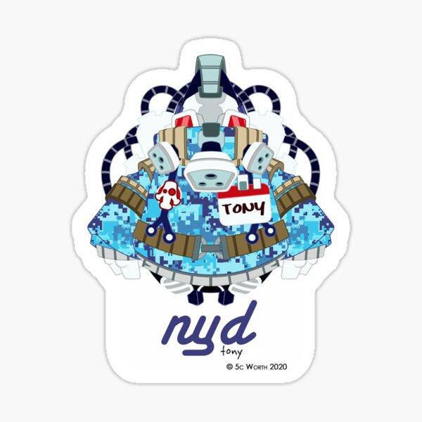 Nyd - Tony Sticker
