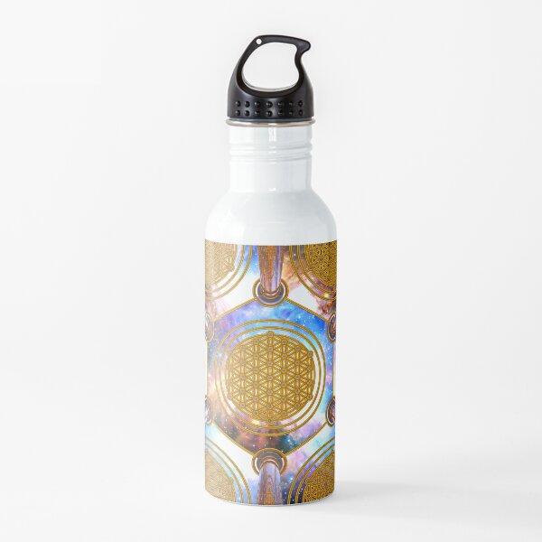 Flower of life Healing Code Water Bottle