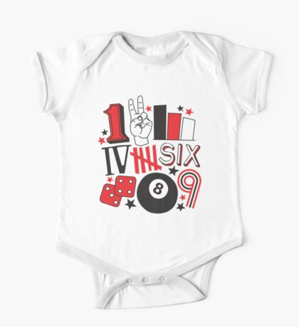 Numbers Kids Clothes