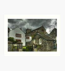 Hawkshead,Cumbria Art Print