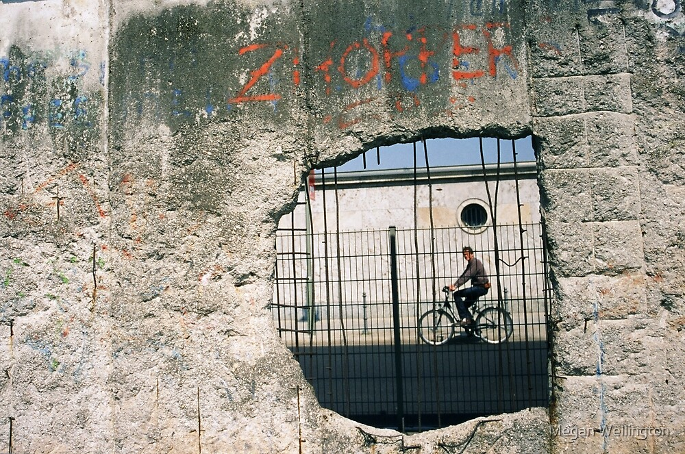 Decisive Moment, Berlin Wall by Megan Wellington