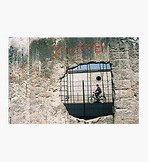 Decisive Moment, Berlin Wall Photographic Print