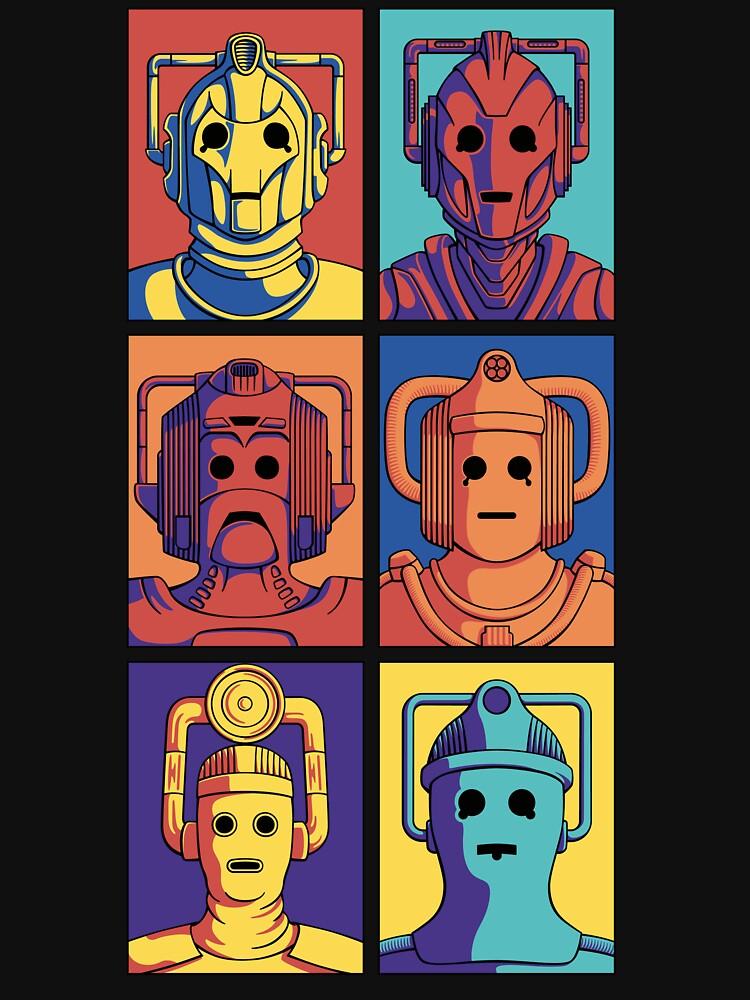 Cyberpop Evolution by DoodleDojo